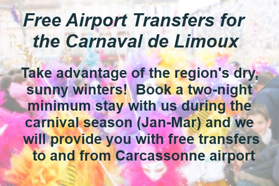 free transfers during the carnaval de limoux